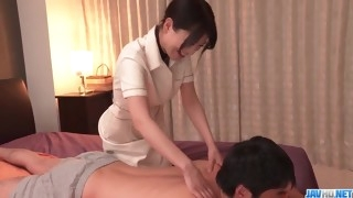 desirable se with Nana Nakamura during erotic massage