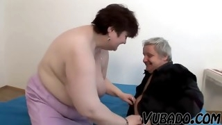 Old guy and his big tits milf amateur fucking