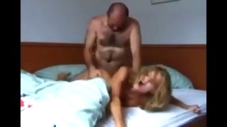 crazy bitch used hard by her new owner of an apartment