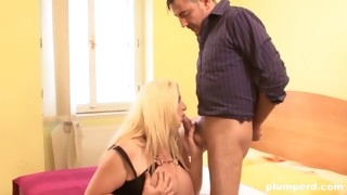 blonde fat whore rides big dick plumperd.com