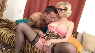 hot mother suck and fuck lucky son