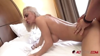 petite blonde slut vanessa sky loves cock and cum