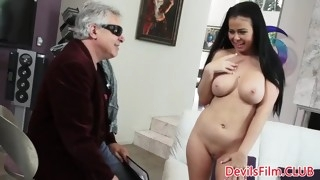 busty amateur cockriding after doggystyle