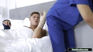 19yo nurse stepsis gives stepbro a hand